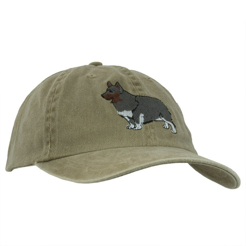 Pembroke Welsh Corgi Adjustable Baseball Cap