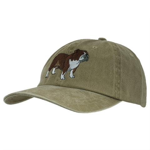 Bulldog Adjustable Baseball Cap