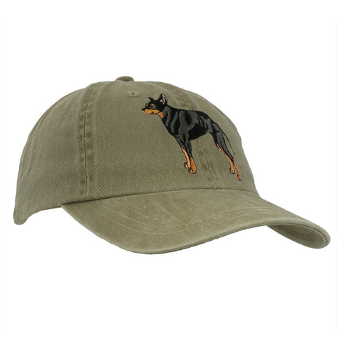 Manchester Terrier Adjustable Baseball Cap