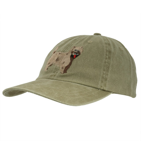 Cairn Terrier Adjustable Baseball Cap