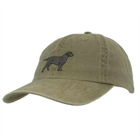 Lab Retriever Adjustable Baseball Cap