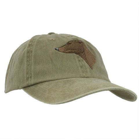Greyhound Adjustable Baseball Cap