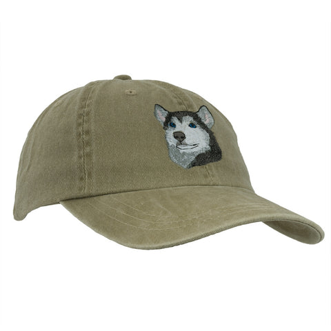 Siberian Husky Adjustable Baseball Cap