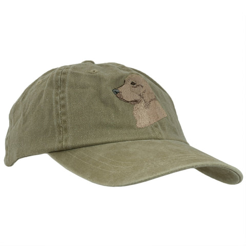 Golden Retriever Adjustable Baseball Cap
