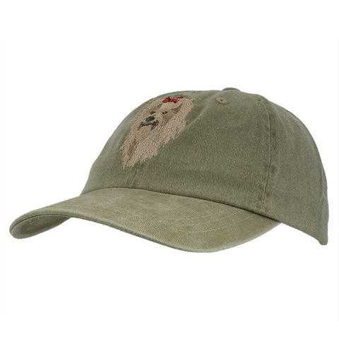 Yorkshire Terrier Adjustable Baseball Cap