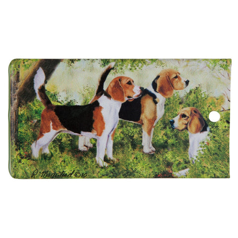 Beagle Portrait Bag Tag