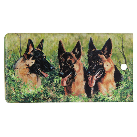 German Shepherd Portrait Bag Tag