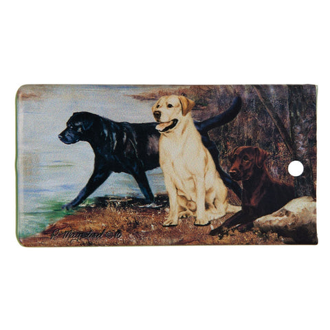 Labrador Portrait Bag Tag