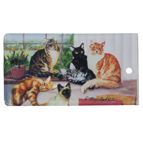 Cats Portrait Bag Tag