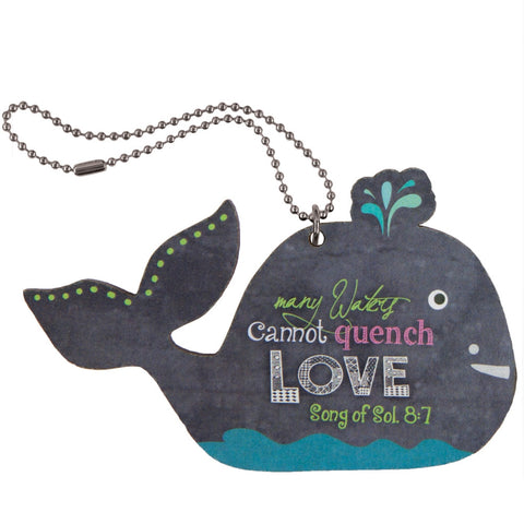 Cannot Quench Love Whale Car Charm