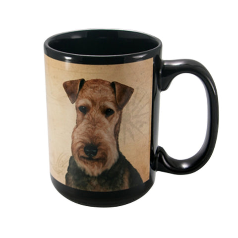 My Faithful Friend Airedale Coffee Mug