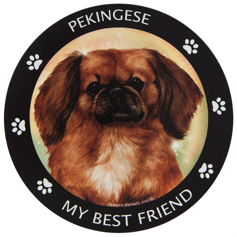 Pekingese My Best Friend Magnet