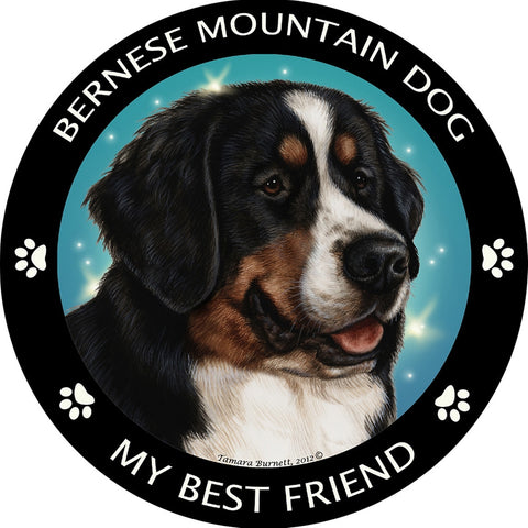 Bernese Mt Dog My Best Friend Magnet