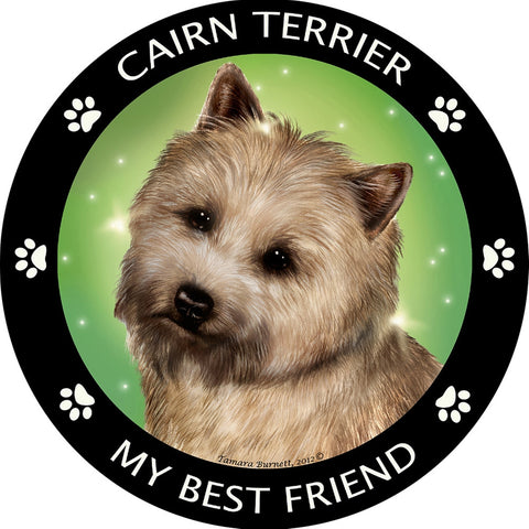 Cairn My Best Friend Magnet