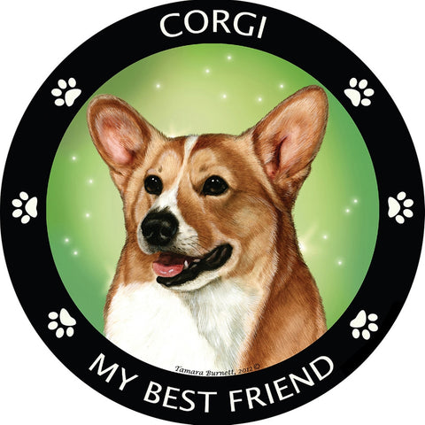 Corgi My Best Friend Magnet