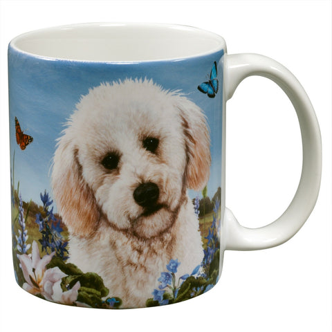 Labradoodle Garden Party Fun Mug