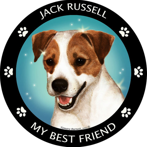 Jack Russell My Best Friend Magnet