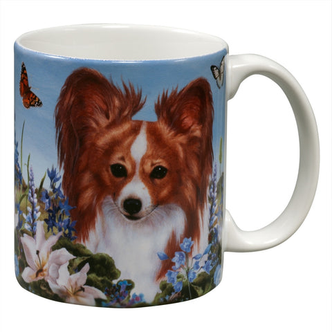 Papillon Garden Party Fun Mug