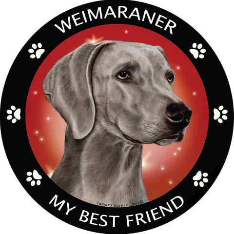 Weimaraner My Best Friend Magnet