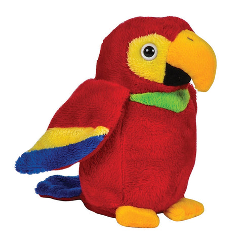 Red Macaw Pal Plush Toy