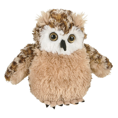 Owl Perched Plush Toy