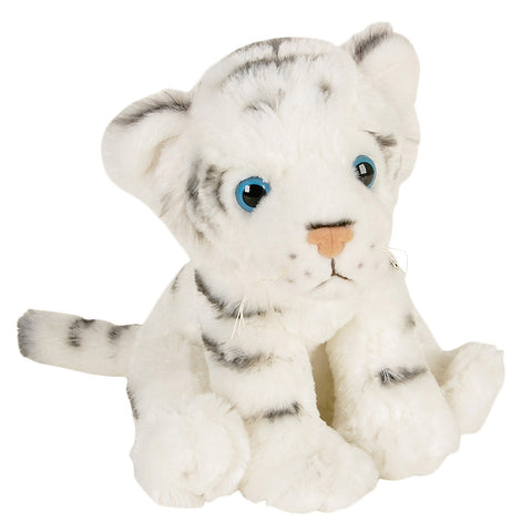 White Bengal Tiger Cub Plush Toy