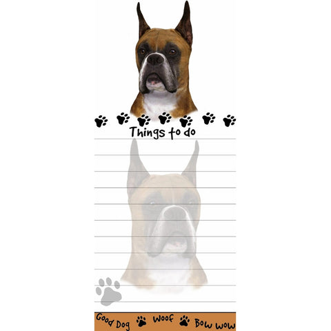 Boxer Cropped Tall Magnetic Notepad
