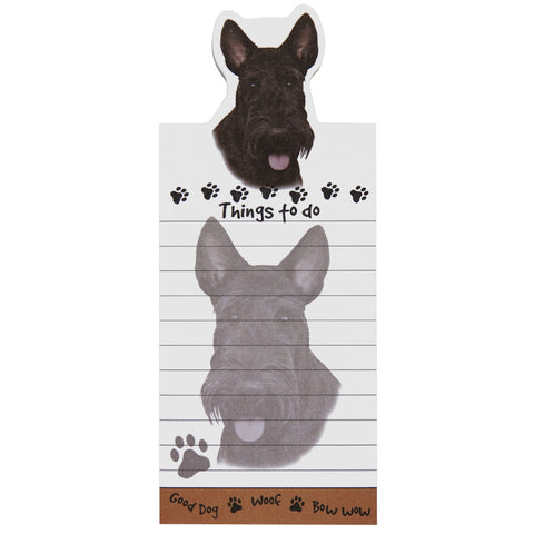 Scottie Tall Magnetic Notepad