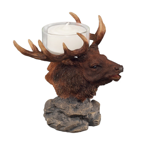 Elk Head Tealight Holder