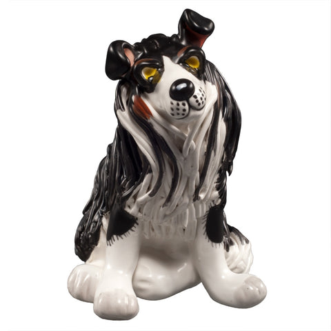Whisper the Border Collie Figurine