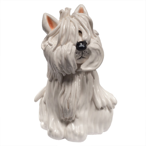 Quincy the West Highland Terrier Figurine
