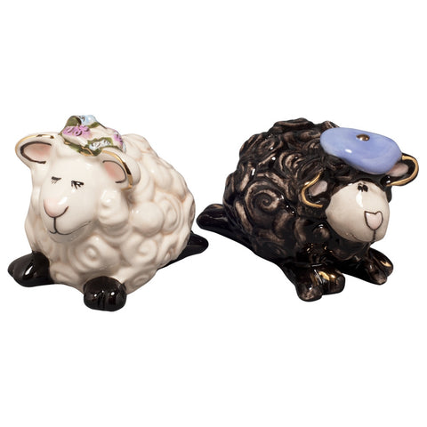 Heather And Hamish Salt And Pepper Shakers
