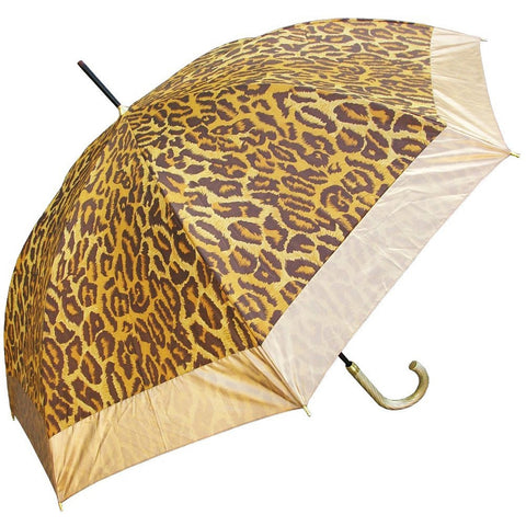 Leopard Print Hook Handle Umbrella
