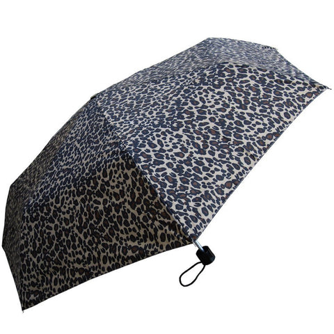 Leopard Print Mini Umbrella