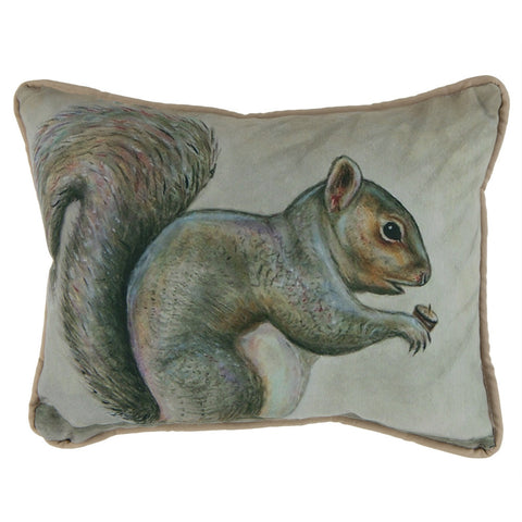 Squirrel Small Indoor/Outdoor Pillow
