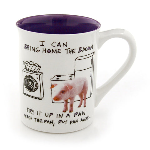 Bring Home The Bacon Piglet Coffee Mug