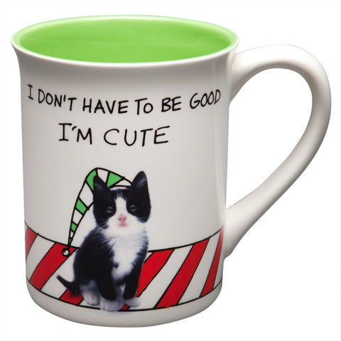 Meowy Christmas Coffee Mug