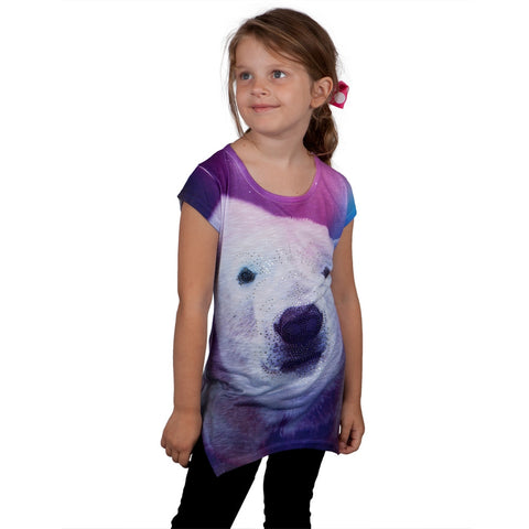 Polor Bear Girls Tunic Shirt