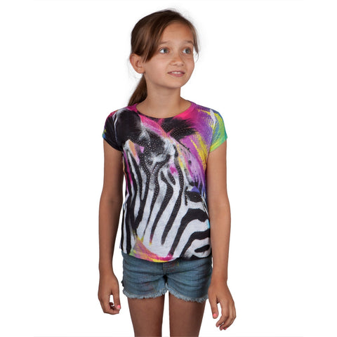 Rhinestone Zebra Girls T-Shirt