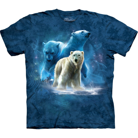 Polar Bear Collage Kids T-Shirt