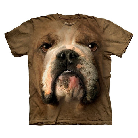 Bulldog Face Kids T-Shirt