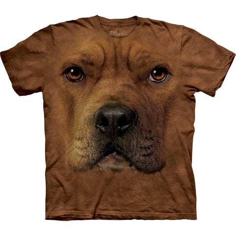 Pit Bull Face Kids T-Shirt