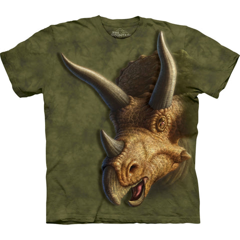 Triceratops Head Kids T-Shirt