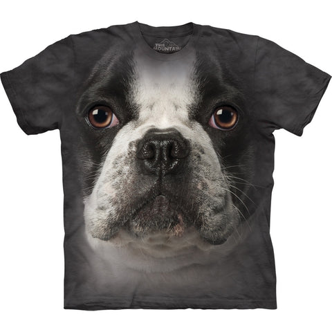 French Bulldog Face Kids T-Shirt