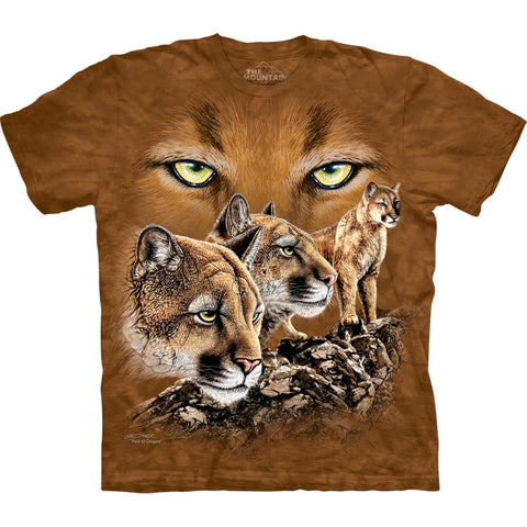 Cougars Find Ten Kids T-Shirt