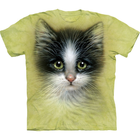 Small Green Eyed Kitten Kids T-Shirt