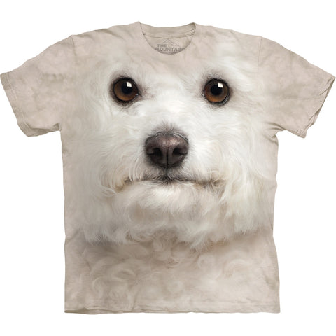 Bichon Frise Face Kids T-Shirt