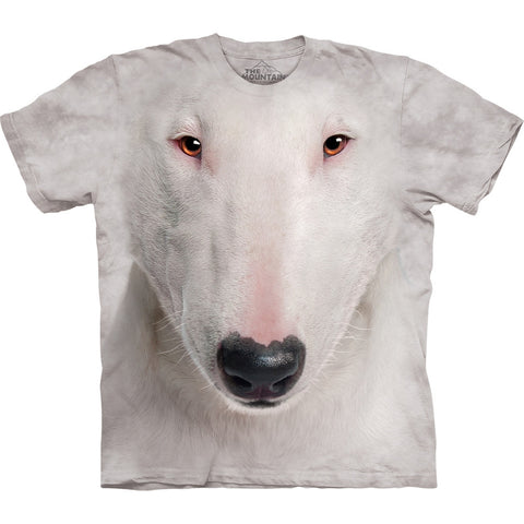 Bull Terrier Face Kids T-Shirt