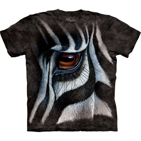 Zebra Eyes Kids T-Shirt