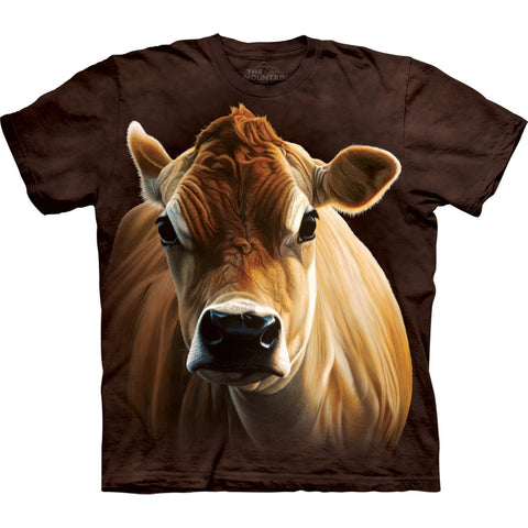Brown Cow Body Kids T-Shirt